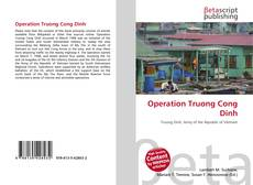 Bookcover of Operation Truong Cong Dinh