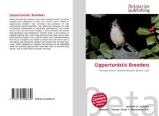 Opportunistic Breeders的封面