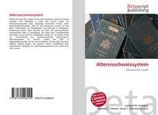 Altersnachweissystem的封面