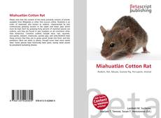 Bookcover of Miahuatlán Cotton Rat
