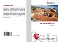 Portada del libro de Altersheimkirche