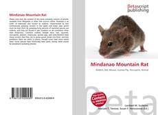 Bookcover of Mindanao Mountain Rat