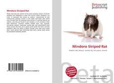 Bookcover of Mindoro Striped Rat