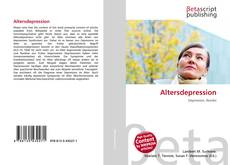Capa do livro de Altersdepression
