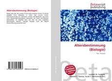Buchcover von Altersbestimmung (Biologie)