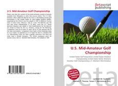 Обложка U.S. Mid-Amateur Golf Championship