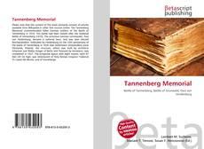 Bookcover of Tannenberg Memorial