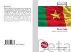 Capa do livro de Bamenda