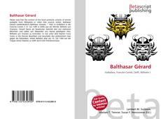 Couverture de Balthasar Gérard