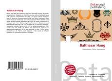 Buchcover von Balthasar Haug