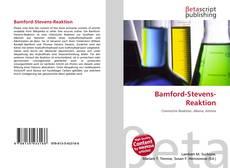 Buchcover von Bamford-Stevens-Reaktion