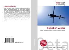 Capa do livro de Operation Veritas
