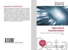Copertina di Operational Transformation