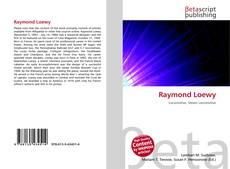 Capa do livro de Raymond Loewy