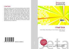 Bookcover of I Feel Sick