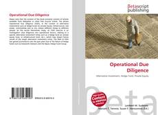 Bookcover of Operational Due Diligence