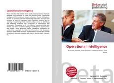Capa do livro de Operational Intelligence