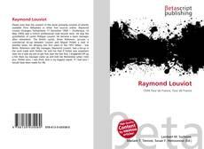 Bookcover of Raymond Louviot