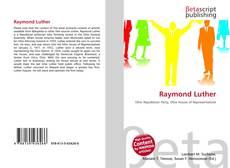Обложка Raymond Luther