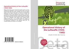 Capa do livro de Operational History of the Luftwaffe (1939–1945)
