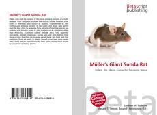 Bookcover of Müller's Giant Sunda Rat