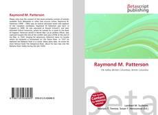 Обложка Raymond M. Patterson