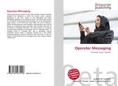 Bookcover of Operator Messaging