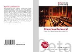 Обложка Opernhaus Dortmund