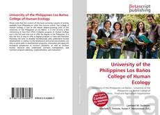 Bookcover of University of the Philippines Los Baños College of Human Ecology