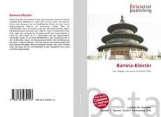 Portada del libro de Bamna-Kloster