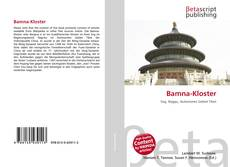 Capa do livro de Bamna-Kloster