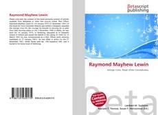 Portada del libro de Raymond Mayhew Lewin