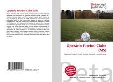 Copertina di Operário Futebol Clube (MS)