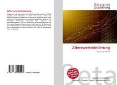 Capa do livro de Alterswertminderung