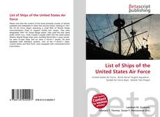 Обложка List of Ships of the United States Air Force