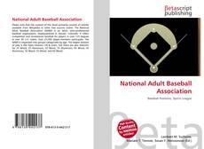 Copertina di National Adult Baseball Association