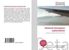 Capa do livro de National Aerospace Laboratories