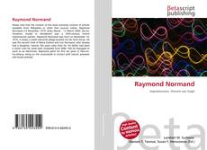 Bookcover of Raymond Normand