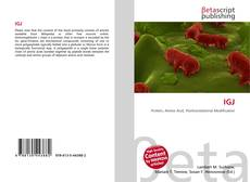 Bookcover of IGJ