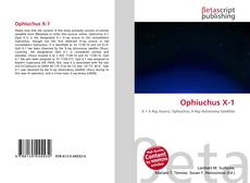 Bookcover of Ophiuchus X-1