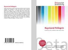 Bookcover of Raymond Pellegrin