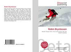 Robin Bryntesson kitap kapağı