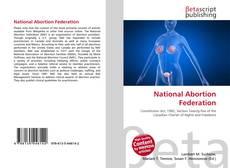 Bookcover of National Abortion Federation