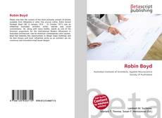 Robin Boyd kitap kapağı