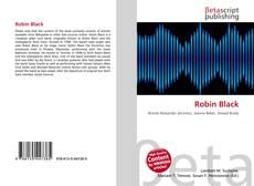 Capa do livro de Robin Black