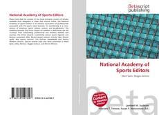 Portada del libro de National Academy of Sports Editors