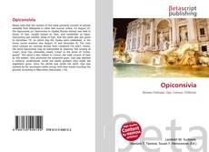 Bookcover of Opiconsivia