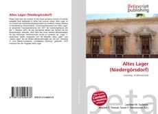 Altes Lager (Niedergörsdorf)的封面