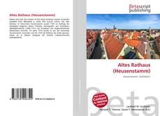 Capa do livro de Altes Rathaus (Heusenstamm)