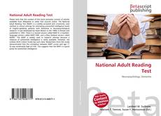 Copertina di National Adult Reading Test